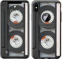 """Чехол на iPhone X Кассета """"876c-1050-10409"""""""
