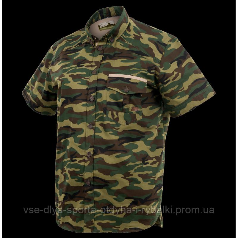 Охотничья хлопковая рубашка GRAFF 826-KO-C-KR