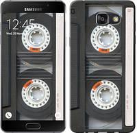 """Чехол на Samsung Galaxy A7 (2016) A710F Кассета """"876c-121-10409"""""""