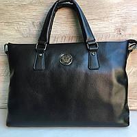 Кожаный мужской портфель Giorgio Armani