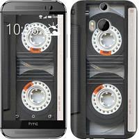 "Чехол на HTC One M8 Кассета ""876c-30-10409"""