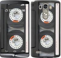 """Чехол на LG G3 D855 Кассета """"876c-47-10409"""""""