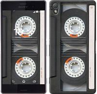 """Чехол на Sony Xperia Z3 D6603 Кассета """"876c-58-10409"""""""