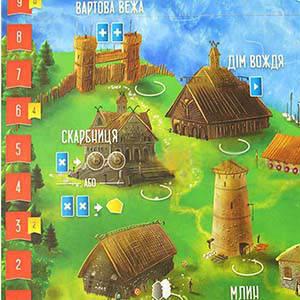 Настольная игра Вікінги північного моря (Raiders of the North Sea), фото 2