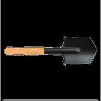 Саперная лопата обычная, 500мм, деревянная ручка