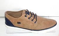 Кеды мокасины в стиле Vans коричневые 40,41,42,43,45 размеры