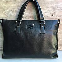 Мужская кожаная сумка (портфель) Mont Blanc
