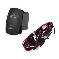 Реле жгут проводов комплект светодиодный свет бар лазерный перекидной переключатель
