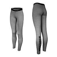 Спортивные лосины (леггинсы компрессионные) женские Radical Neat, влагоотводящие, серые