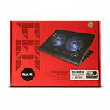"Подставка-кулер для ноутбука HAVIT HV-F2050 (14-15,6""), USB, black, подсветка, фото 5"