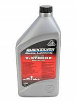 Масло моторное Quicksilver TC-W3 Premium для 2-тактных двигателей, 1л