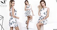 Платье-комбинезон с бабочками
