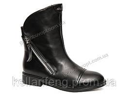Ботинки демисезонные женские. Lilin-Shoes LI6021-1 (6пар,36-41)