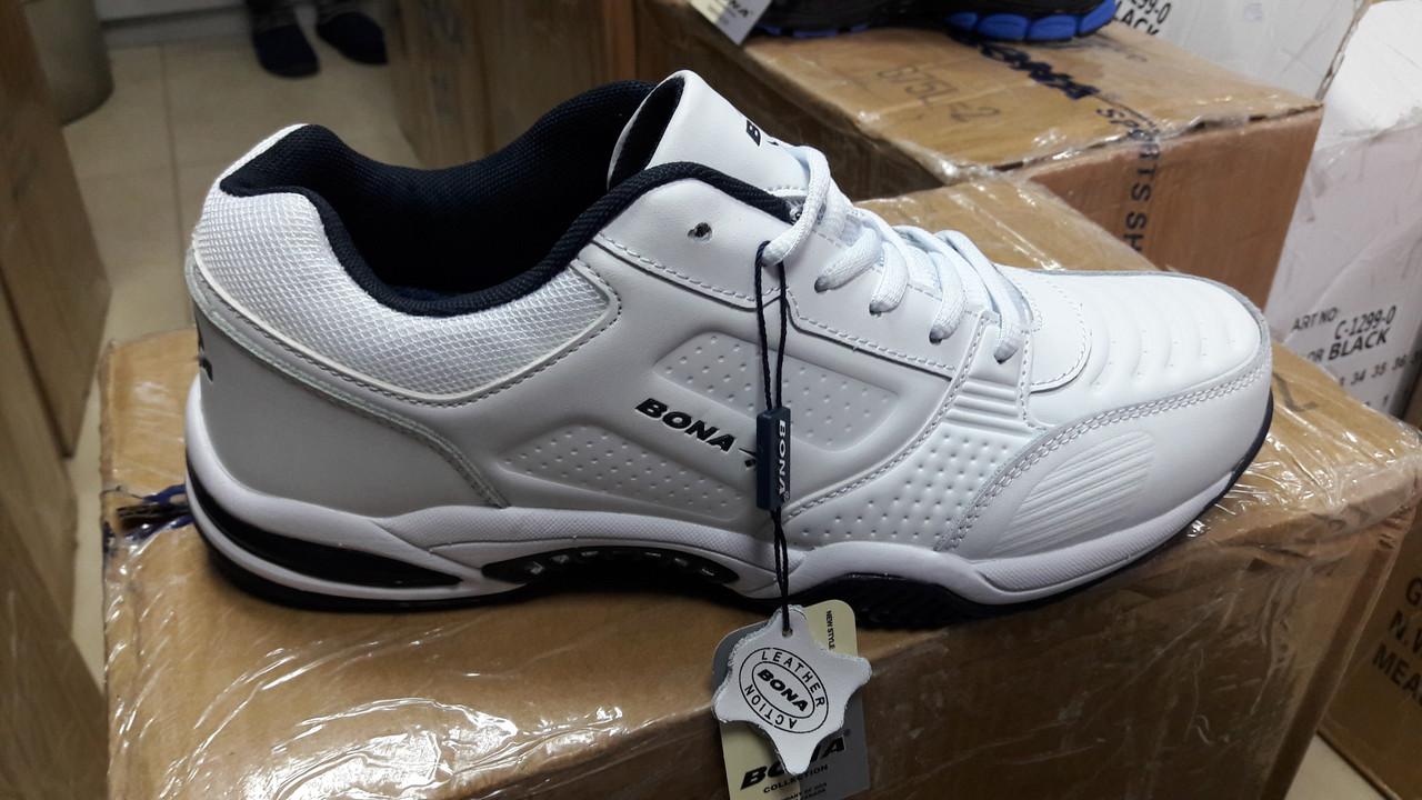 Кроссовки белые мужские Bona