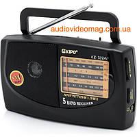 Радиоприёмник всеволновой KP-308AC FM(УКВ), TV, AM, SW1, SW2., фото 1
