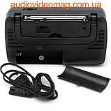 Радіоприймач всехвильовий KP-409AC FM(УКХ), TV, AM, SW1, SW2., фото 2
