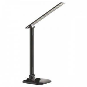 Настольна LED лампа Feron DE1725 30LED 9W 6400K Чорна (часто беруть для манікюру), фото 2