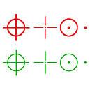 Коллиматорный прицел Sightmark Men's Ultra Shot Plus красная и зеленая марка батарея до 2000 часов, фото 6