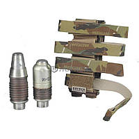 Подсумок для 4-х подствольных гранат ВОГ-25 в камуфляже Multicam от Hofner