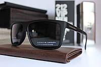 Солнцезащитные мужские очки Порше Porsche чёрные полароид (реплика), фото 1