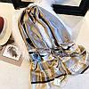 Шёлковый палантин шарф Burberry топ продаж