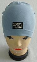 """Шапка-домік для хлопчиків """"FASHION DESIGN"""", р 3-8 років"""