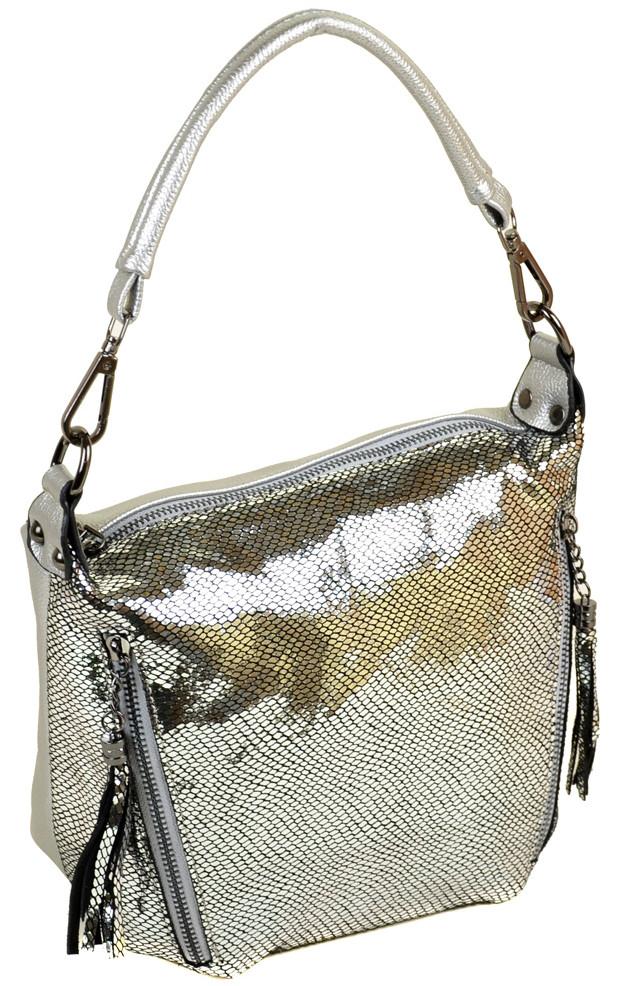 Женская кожаная сумка клатч ALEX RAI 312-1 silver Женская кожаная сумка,  кожаный женский клатч fd3c4da2f83