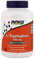 Now L-Tryptophan 500mg 120 veg сaps