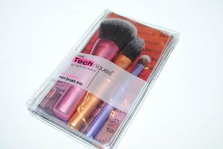 Мини - набор из 3 кистей REAL TECHNIQUES Mini Makeup Brush Trio, фото 3
