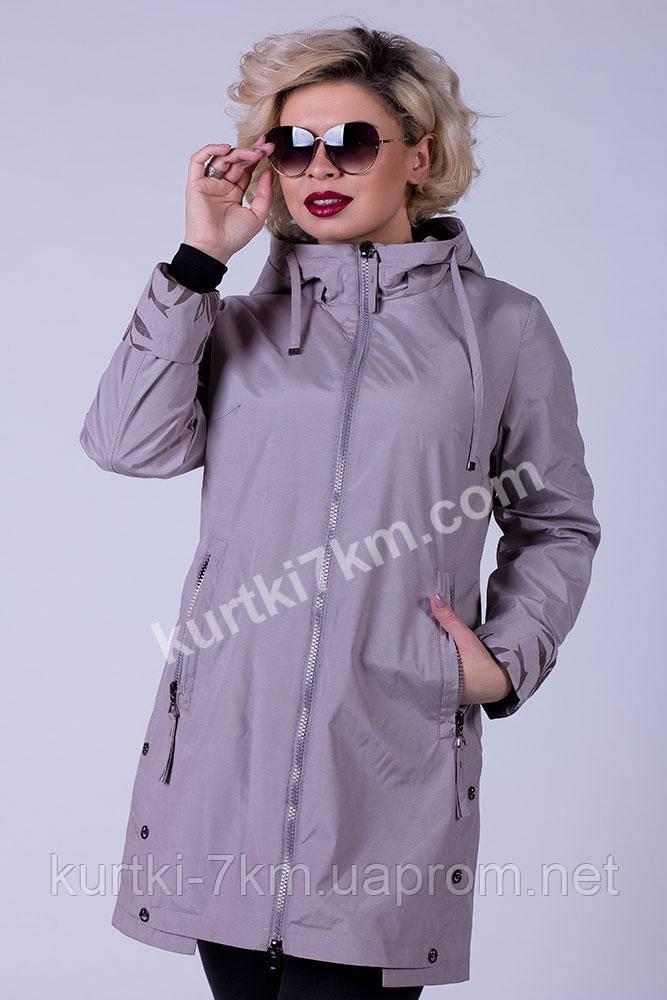 b1852b05411 Женские плащи для полных женщин POEM 8137 - Женские куртки