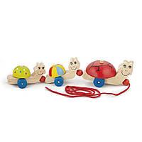 Игрушка-каталка Viga Toys Черепашки 59949