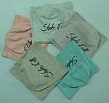 """Весняний комплект для дівчаток: шапка-буратіно + хомут """"Shake it off"""", фото 3"""