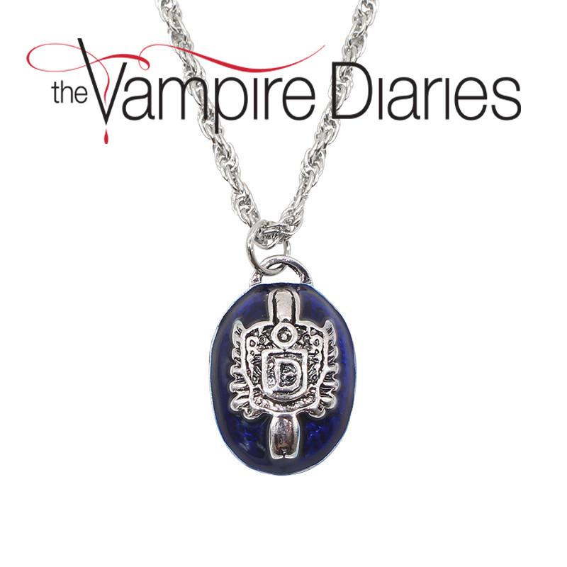 Кулон медальон Сальваторе Дневники Вампира