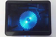 "Подставка-кулер для ноутбука HAVIT HV-F2010 (14-15,6""), USB, black, подсветка"