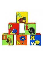 Детские кубики и мозаики