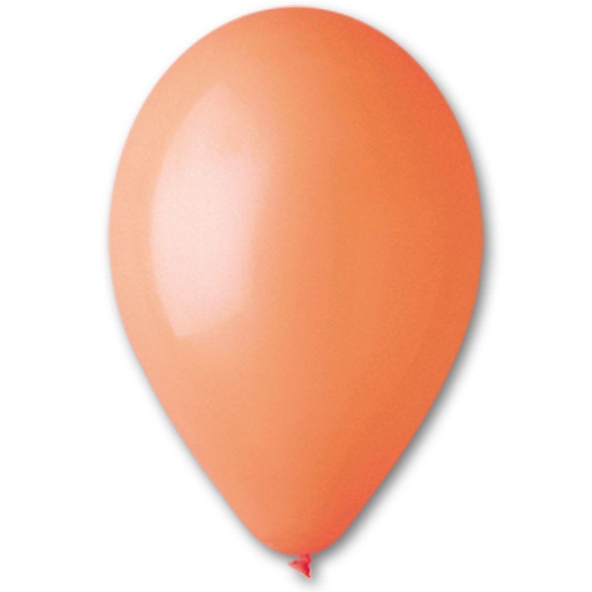 Шары Gemar пастель 5′′/04 пастель оранжевый 100 шт