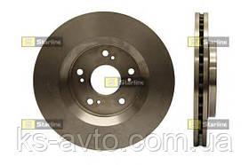 Диск передній гальмівний Honda CR-V 2.0 - 2.4 06- STARLINE PB 4501