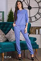 Блуза и брюки из льна стрейч