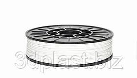 Інженерний ABS-пластик для 3D-принтера, 1.75 мм, 0,75 кг 0.75, білий