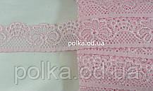 Кружево,ширина 3.5см,цвет розовый/голубой/белый