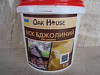 Воск  пчелиный пастообразный  для защиты  древесины 1 л