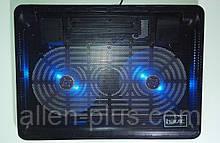 """Підставку-кулер для ноутбука HAVIT HV-F2035 (14-15,6""""), USB, black, підсвітка"""