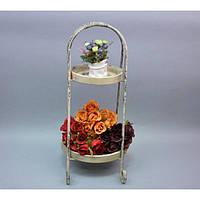 Подставка под цветы JK1252, материал - металл, размер - 60*30*20 см, декор для дома, декорирование дома, аксессуары для дома