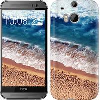 "Чехол на HTC One M8 Берег моря ""3041c-30-10409"""