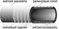 Рукав напорно-всасывающий КЩ-1-25 ГОСТ 5398-76