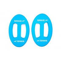 Диски для аквааэробики SPEEDO 8069350309 HYDRO DISKS (EVA, голубые)