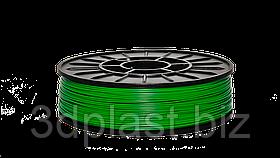 Інженерний ABS-пластик для 3D-принтера, 1.75 мм, 0,75 кг 0.75, зелений