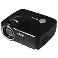 EMP-GP70 800 х 480 пикселей полный HD 1080p мини портативный LCD-проектор Европейская вилка