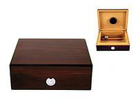 Хьюмидор для 12 сигар, Арт.92004, цвет темно-красный