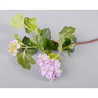 """Композиція квіткова для декору """"Гілочка"""" SUB8064, розмір 60х12 см, декоративна квітка, штучне рослина, букет штучних квітів"""